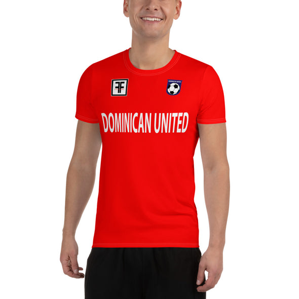 Dominican United Red Soccer Jersey