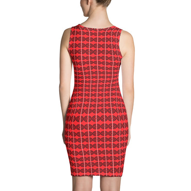 Mark Savior Red Connect Dress