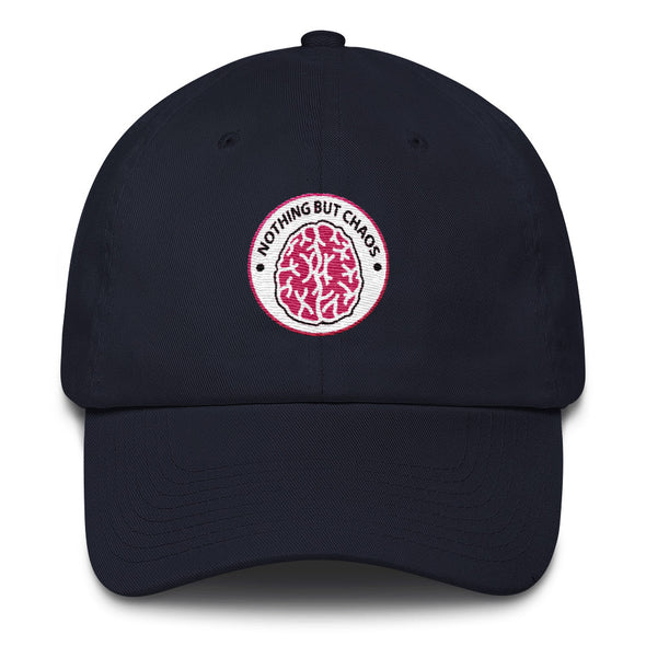 Brain Pink Logo Dad hat