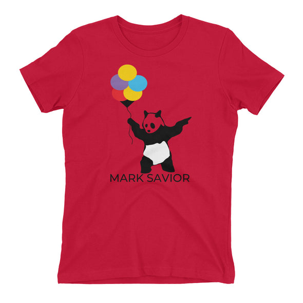 Mark Savior Balloons Panda Women's t-shirt
