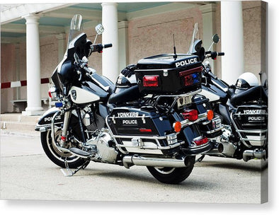 Motorcycle Cruiser - Canvas Print