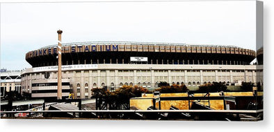 Old Yankee Stadium - Canvas Print