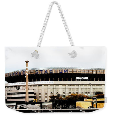 Old Yankee Stadium - Weekender Tote Bag