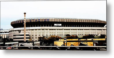 Old Yankee Stadium - Metal Print