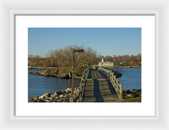The Other Side - Framed Print
