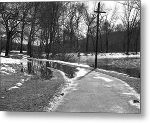 The Road To Paradise - Metal Print