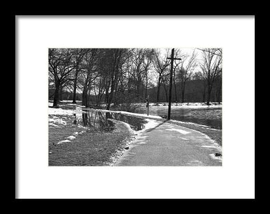 The Road To Paradise - Framed Print