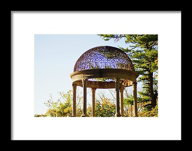 The Sunny Dome  - Framed Print