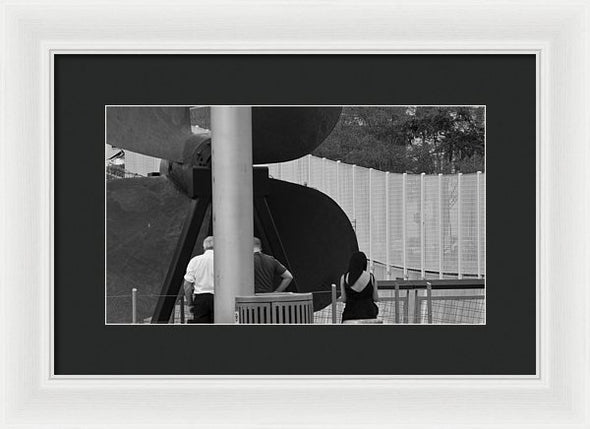Three Is A Company - Framed Print