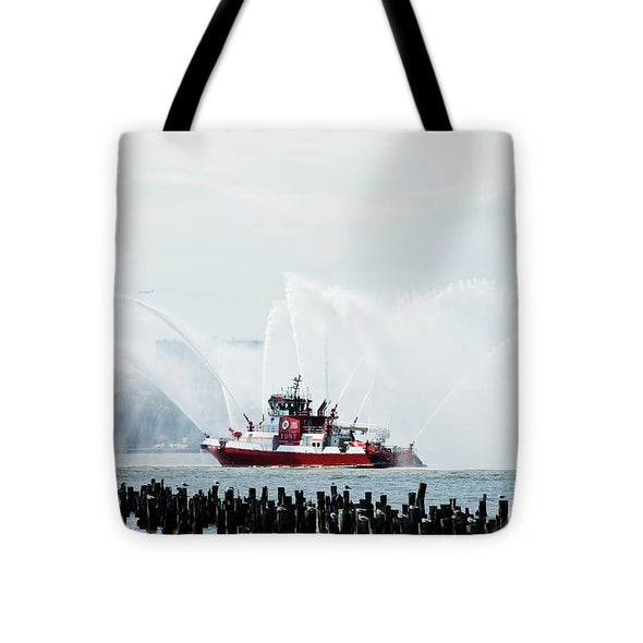 Water Boat - Tote Bag