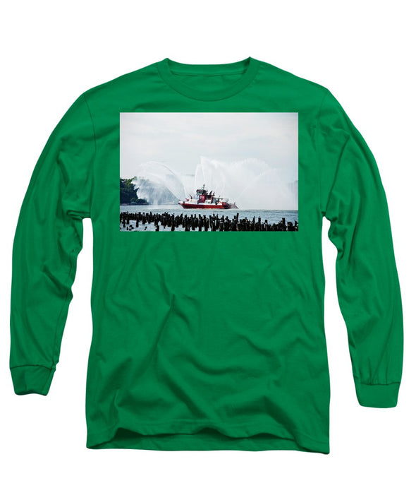 Water Boat - Long Sleeve T-Shirt