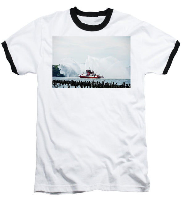 Water Boat - Baseball T-Shirt