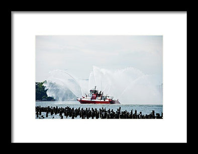 Water Boat - Framed Print