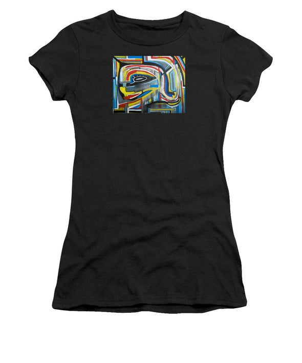 Wired Dreams  - Women's T-Shirt (Athletic Fit)