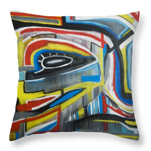 Wired Dreams  - Throw Pillow