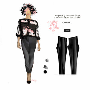 """Elegance"" Low Waist Leggings"