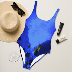 """Beneath the walls"" One-Piece Swimsuit"
