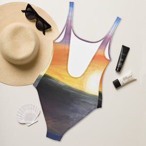 """Sunset"" One-Piece Swimsuit"