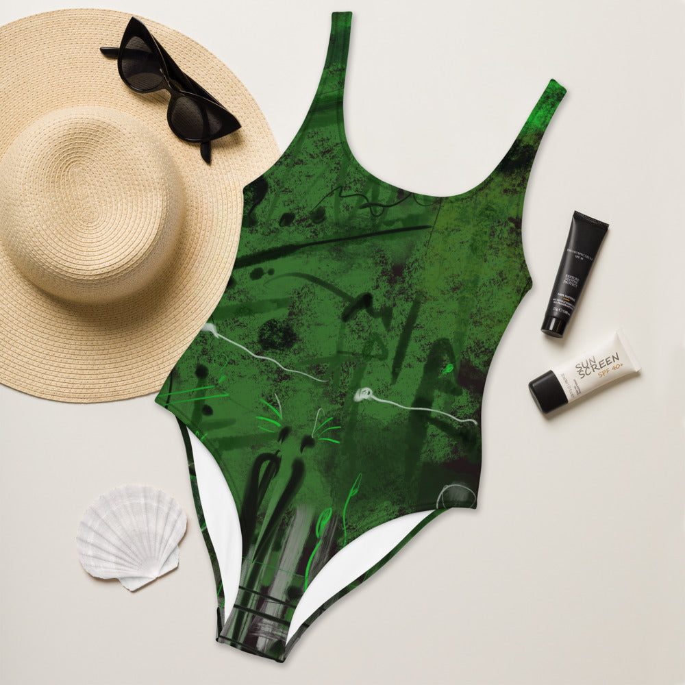 """Tree of your life"" One-Piece Swimsuit"