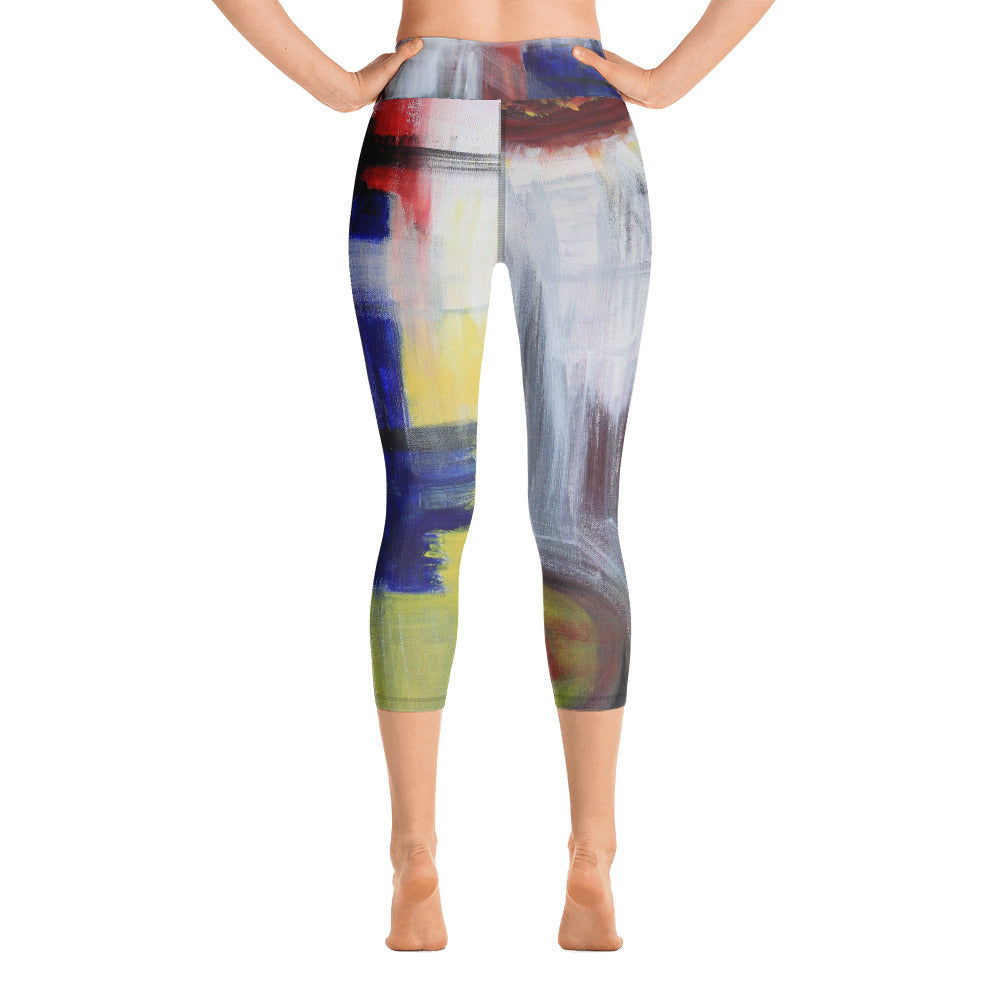 """Begging"" High Waist Capri Leggings"