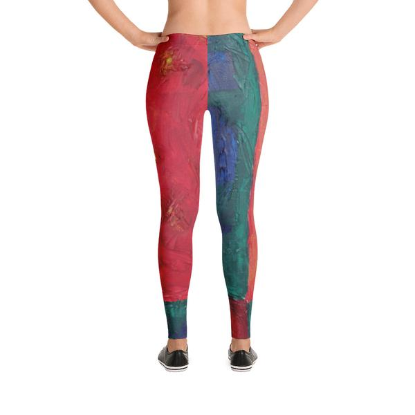 """Beautiful day"" low waist Leggings"