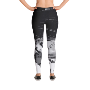 """Code"" low waist leggings"