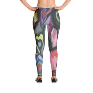 """Crazy life"" Low waist Leggings"