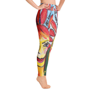 """He loves me He loves me not"" High waist  Leggings"