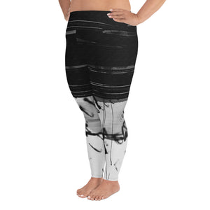 """Code"" Plus Size Leggings"