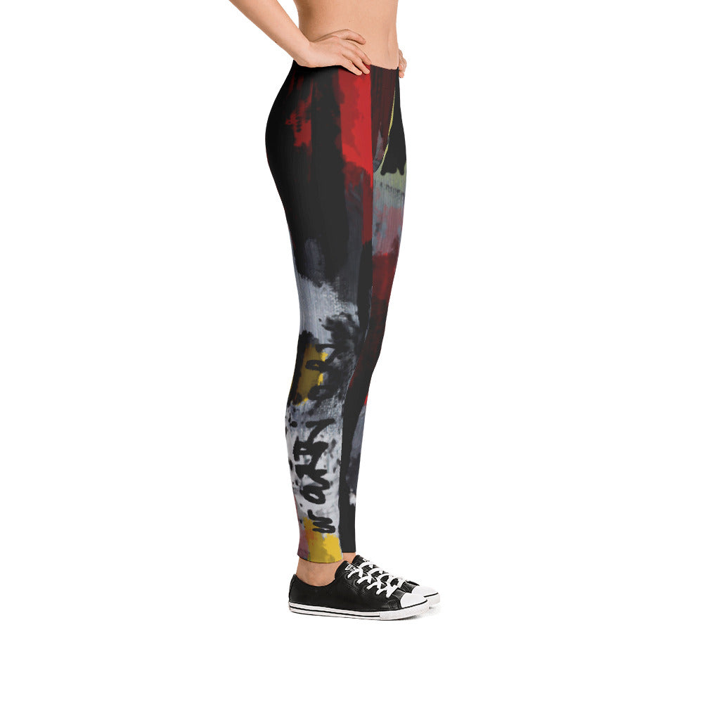 """Warrior"" low waist Leggings"