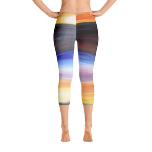 """Rainbow"" Capri Leggings"