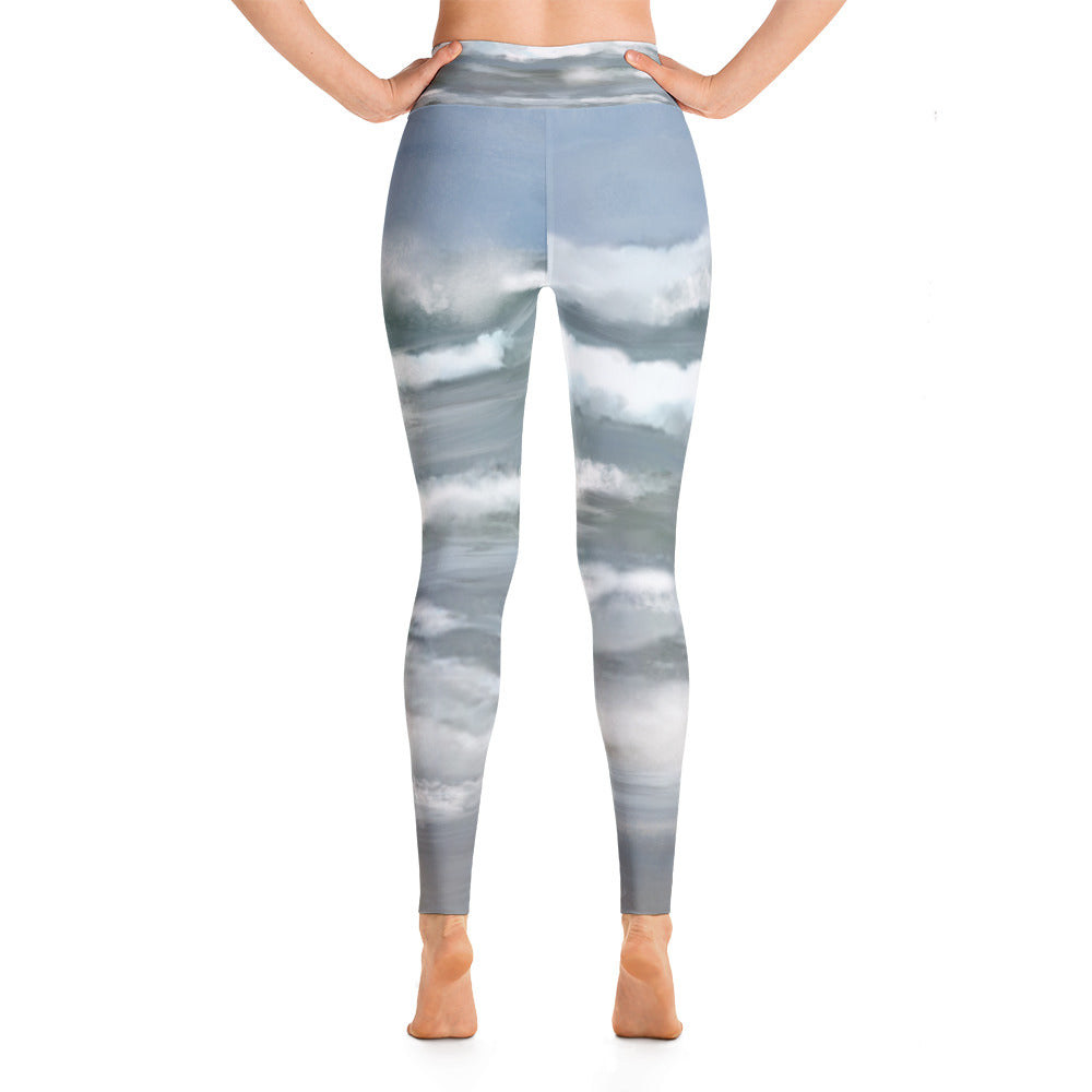 """Life is a beach"" high waist Leggings"