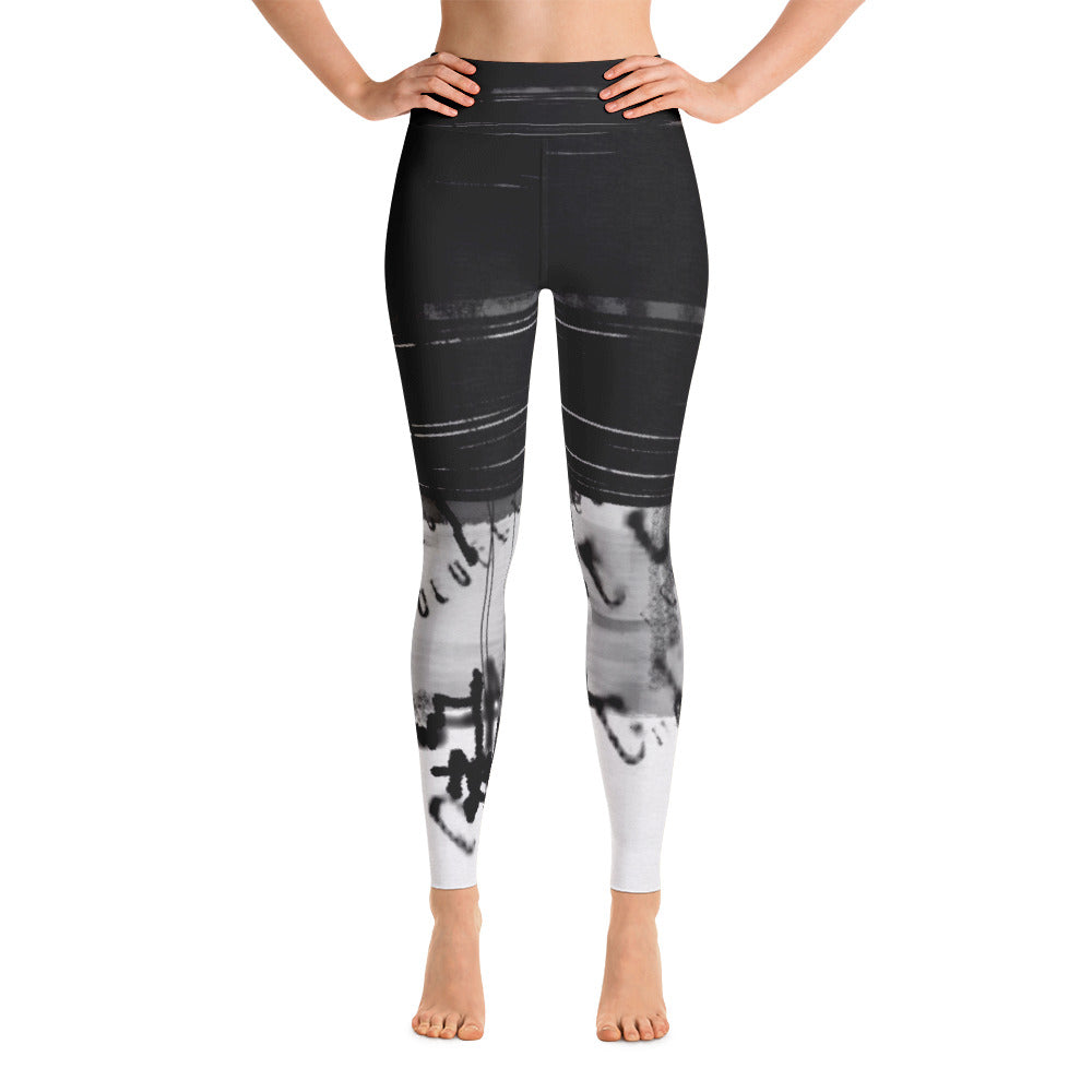 """Code"" high waist Leggings"
