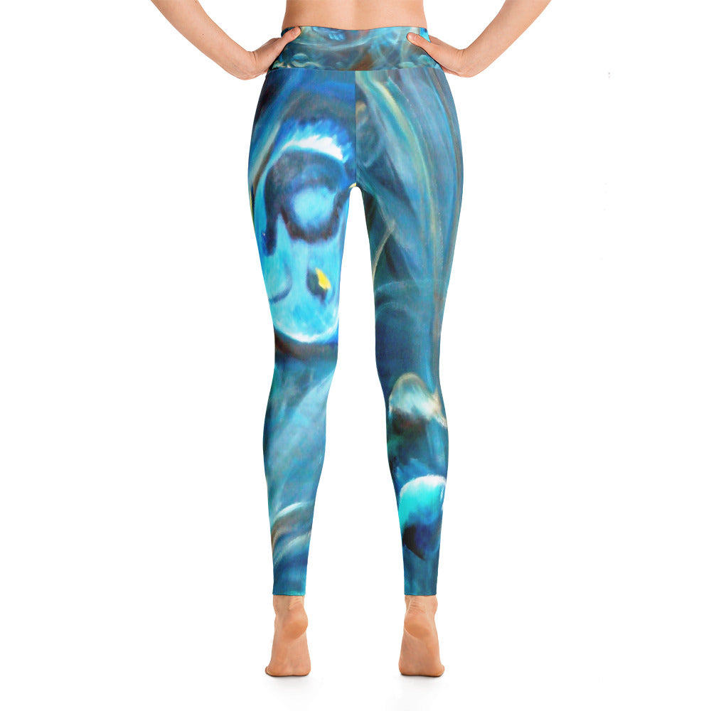 """Under the sea"" nigh waist Leggings"