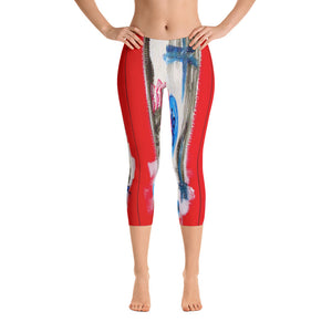"""What you see is what you get"" Capri Leggings"