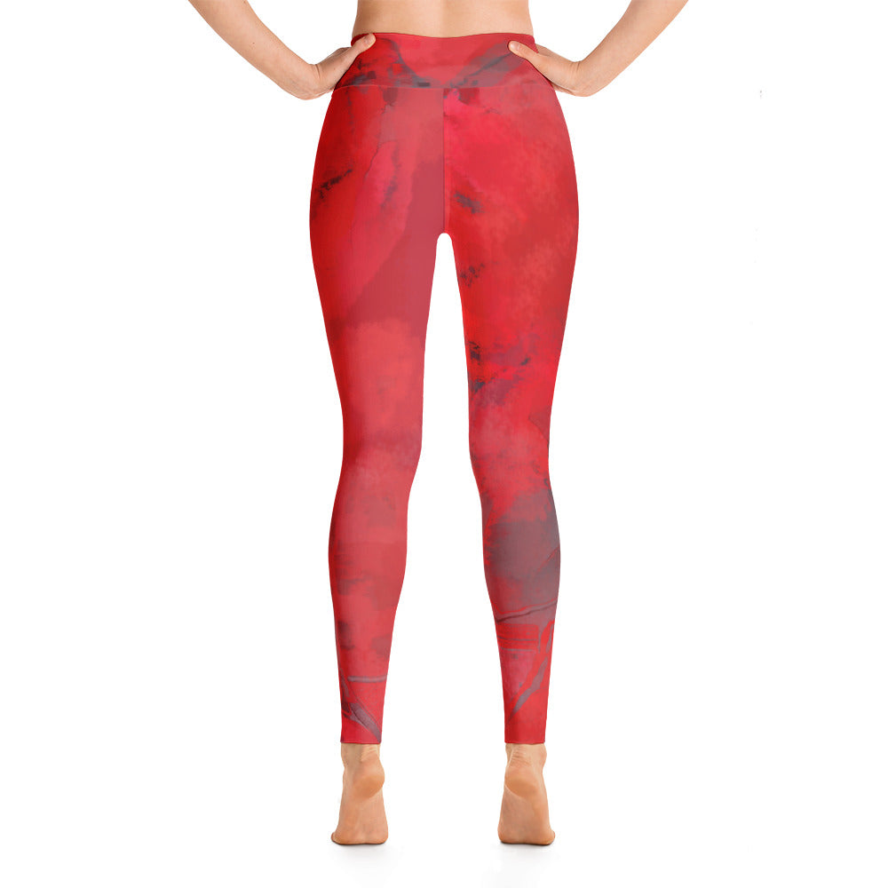 "'Passionate"" high waist Leggings"