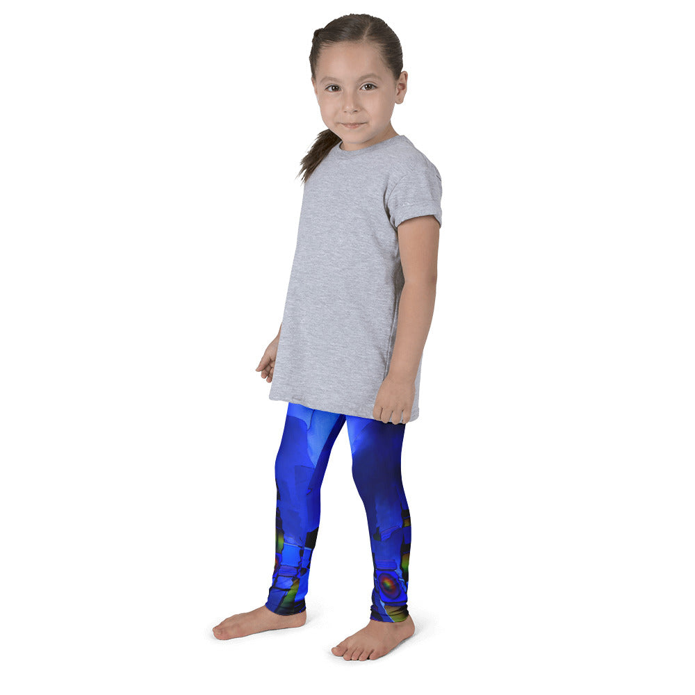 """Beneath the walls"" Kid's leggings"