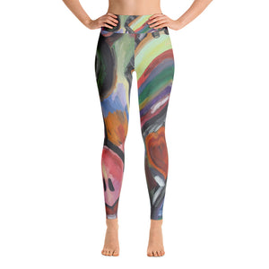 """Crazy life"" High waist  Leggings"