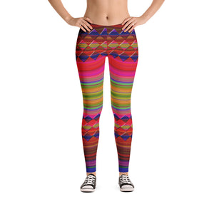 """Let's color"" low waist Leggings"
