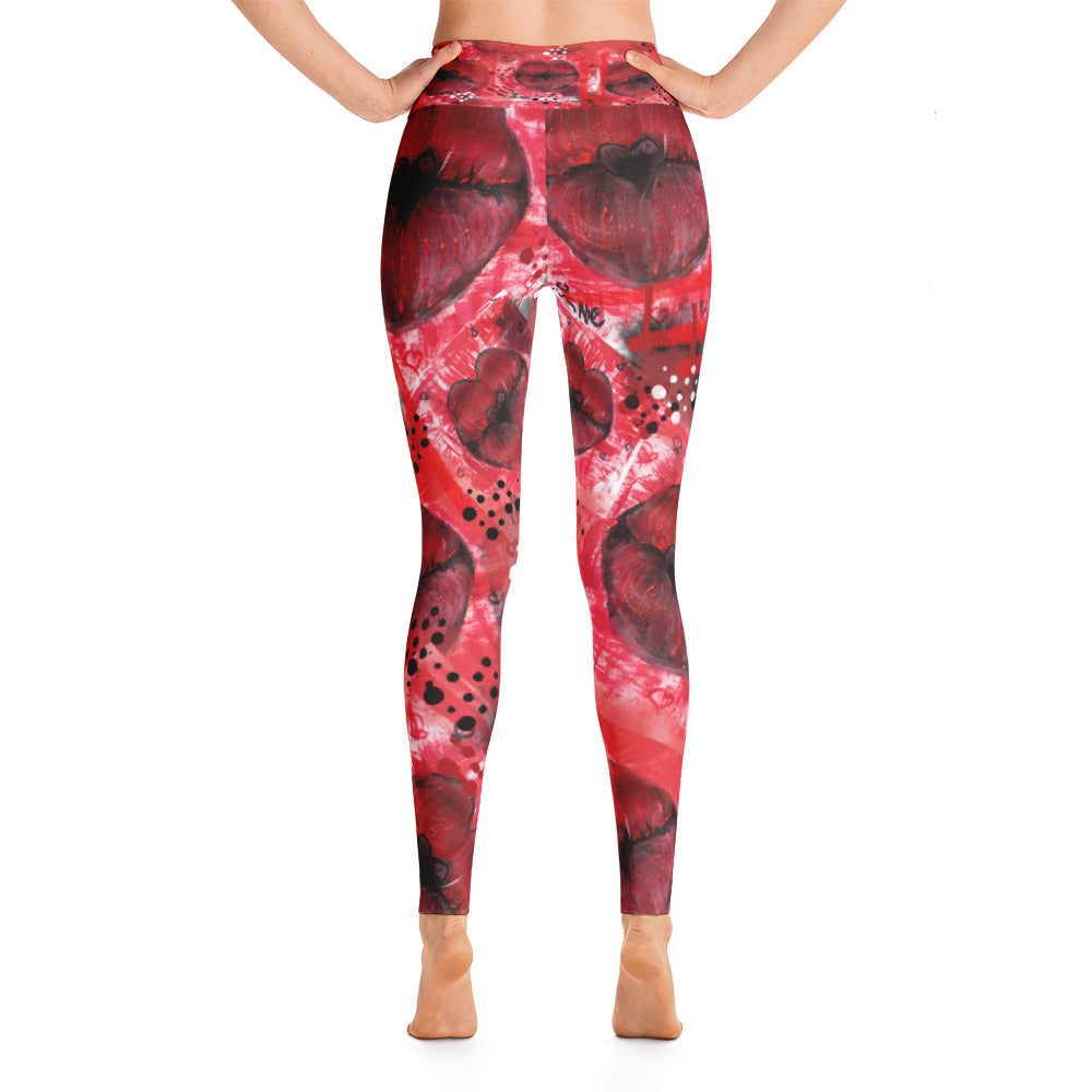 """Kiss me"" high waist Leggings"