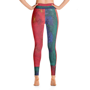 """Beautiful day"" high waist Leggings"