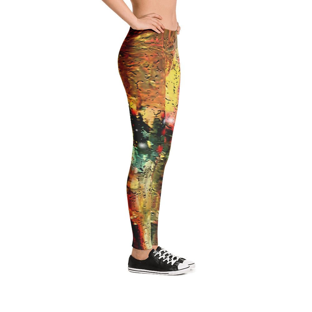 """City that never sleeps"" low waist Leggings"