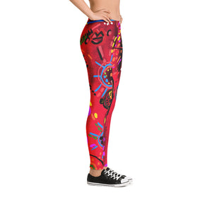 """Secret Love"" Law Waist Leggings"