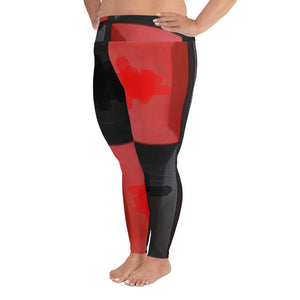"""Darring"" Plus Size Leggings"