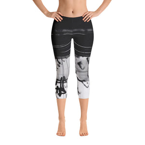 """Code"" Capri Leggings"