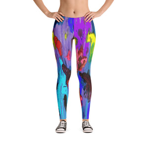"""My palette"" low waist Leggings"