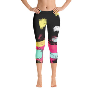 """City life"" Capri Leggings"