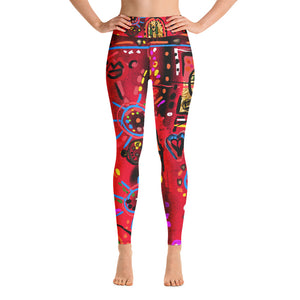 """Secret Love"" high waist Leggings"