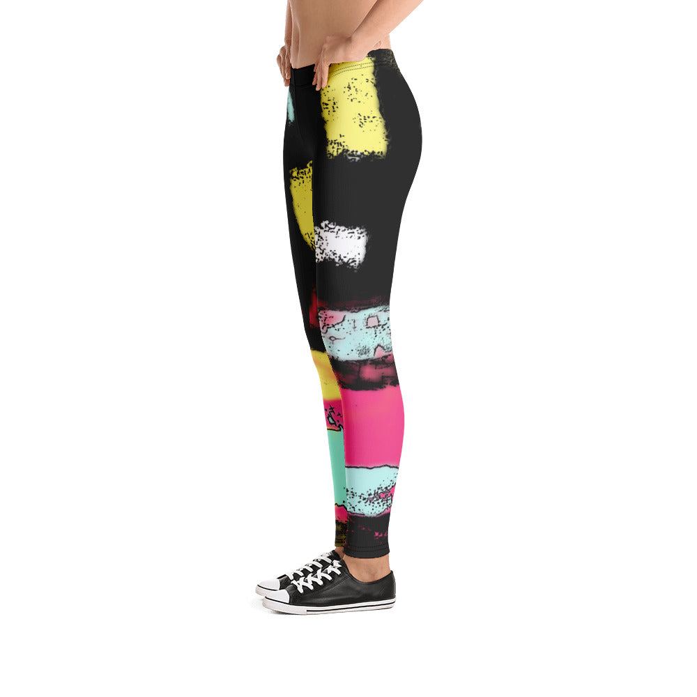 """City life"" Low Waist Leggings"