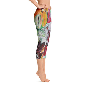 """Garden"" Capri Leggings"